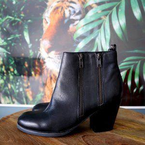 Aldo Zip-Up Ankle Boots